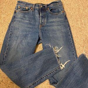 Levi's Wedgie Straight Jean